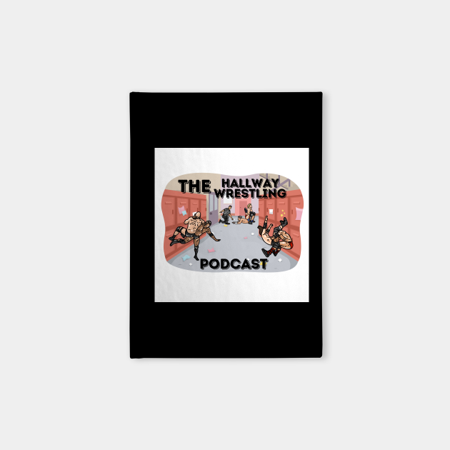 Hallway Wrestling Podcast NEW LOGO merch