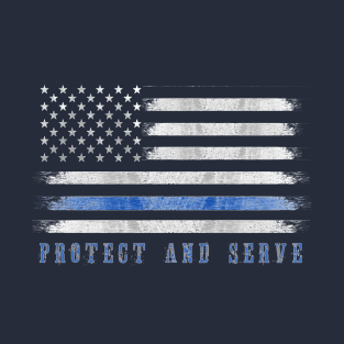 69ced678 Thin Blue Line T-Shirts | TeePublic