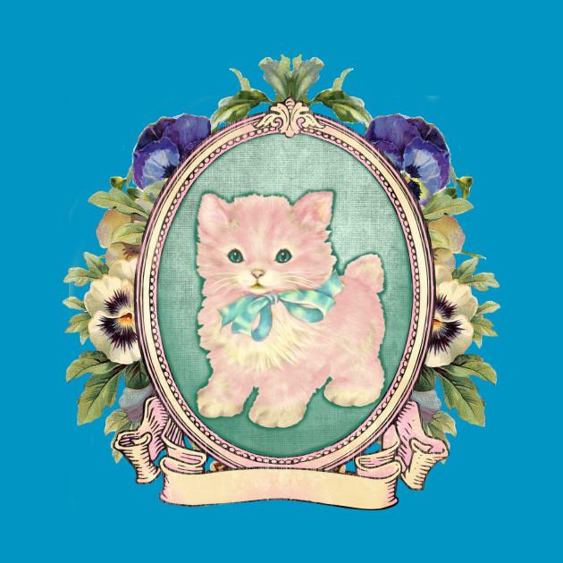 Kitschy Pink Kitten