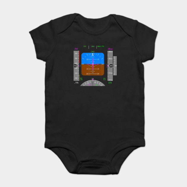 Pilot T-Shirt Aviation Airplane Control Panel Shirt