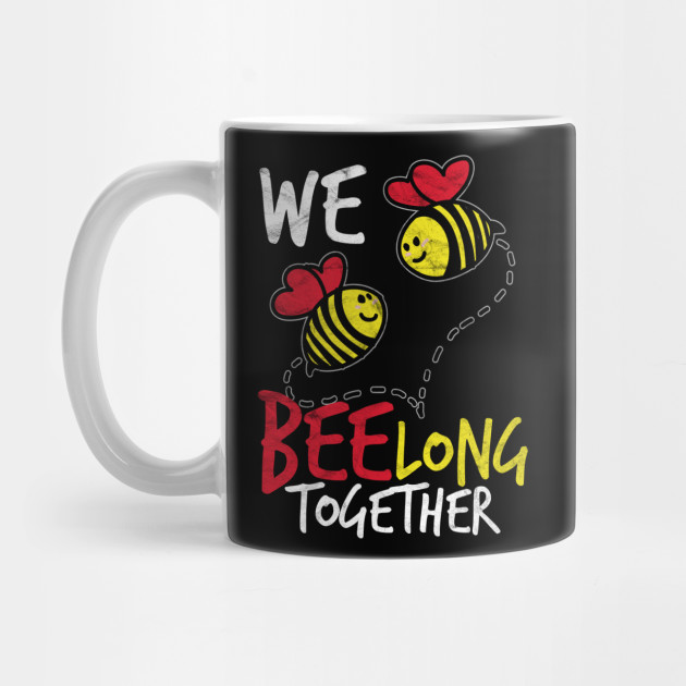 VALENTINE'S DAY-We Bee Long Together Mug