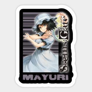 Mayuri Shiina Stickers Teepublic