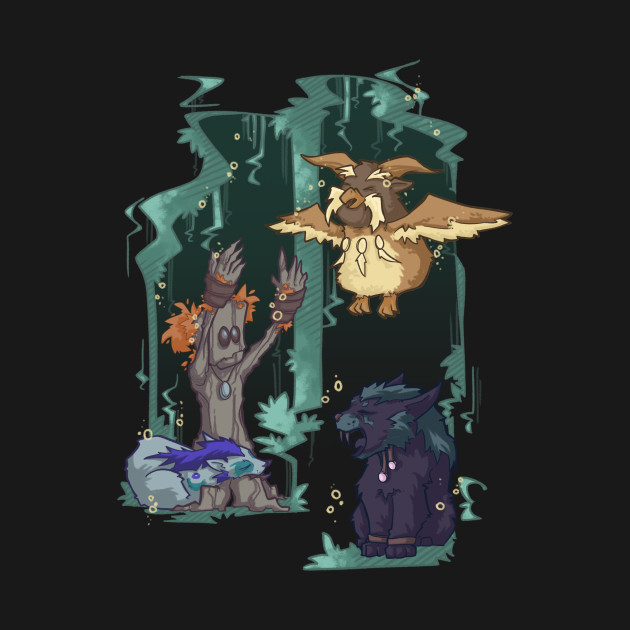 Druid Party World Of Warcraft Hoodie Teepublic