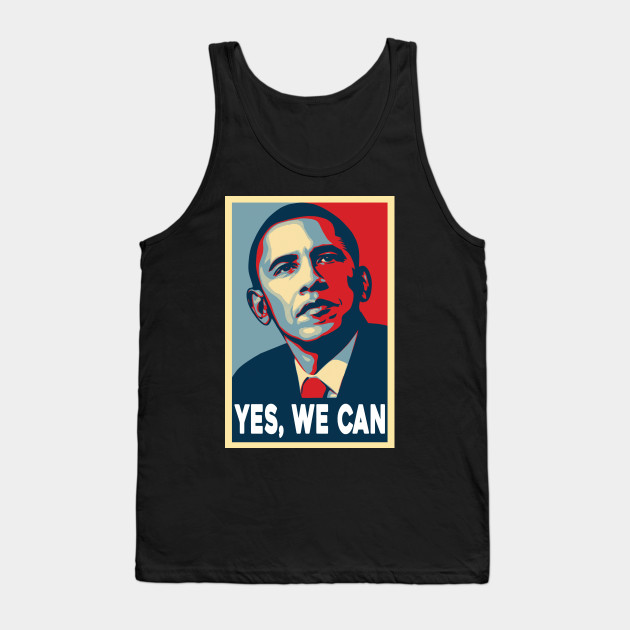 d8642e2538b87 OBAMA - YES WE CAN - Obama Yes We Can - Tank Top