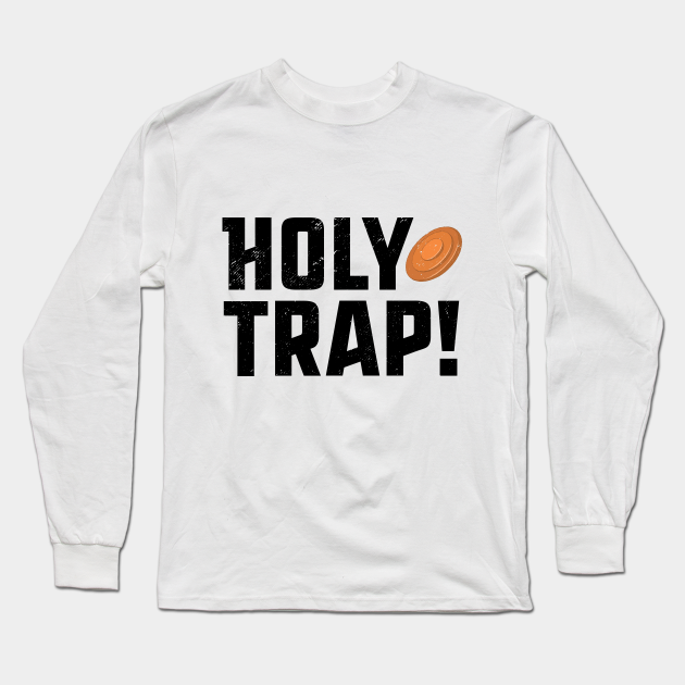 Trap Shooting T-Shirt Holy Trap Shotgun Clay Pigeon Skeet Pun