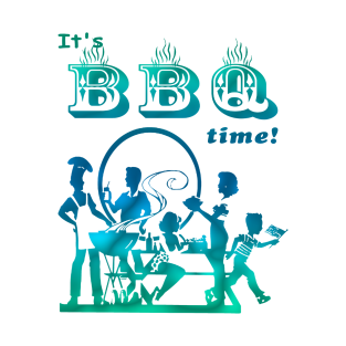 barbecue time t-shirts