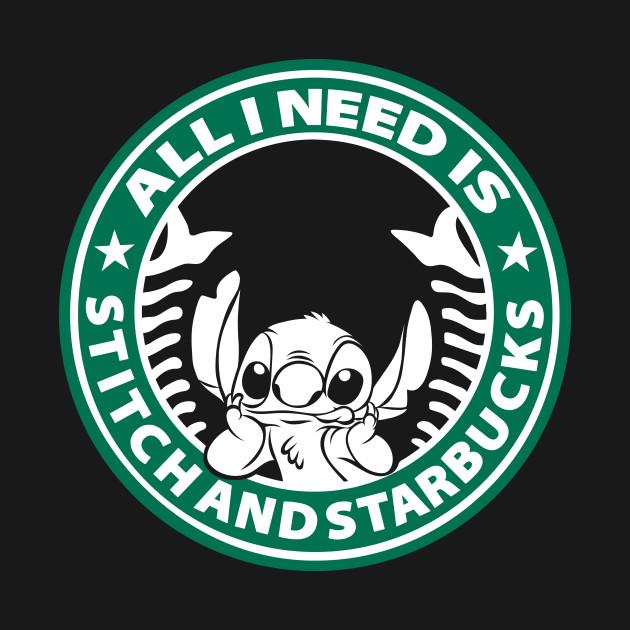 bb021798660 All I need is Stitch and Starbucks