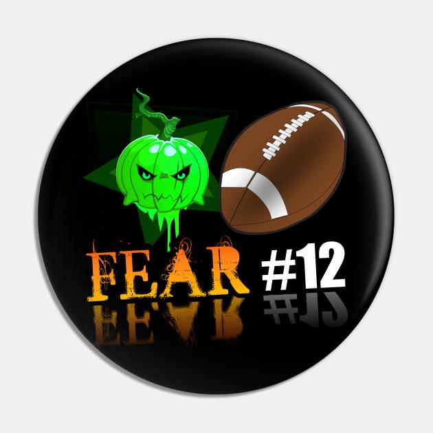 Green Bay Packers Fear #12 Jack O