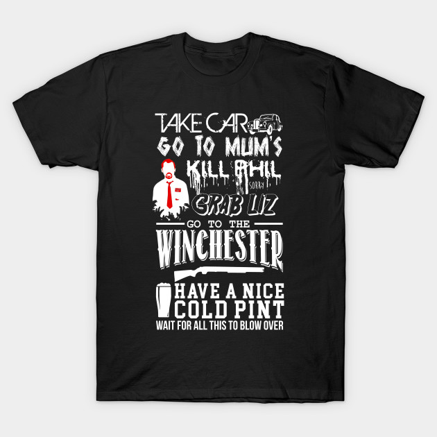 A Winchester Plan of Events T-Shirt-TOZ