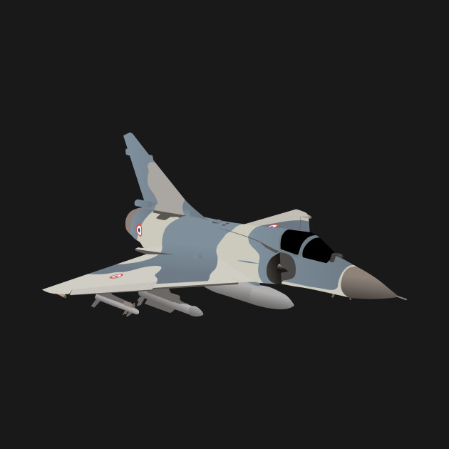Mirage French Jet Fighter