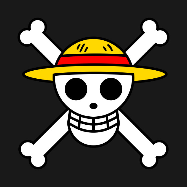 Straw Hat Pirates Jolley Roger (Monkey D Luffy) black variant