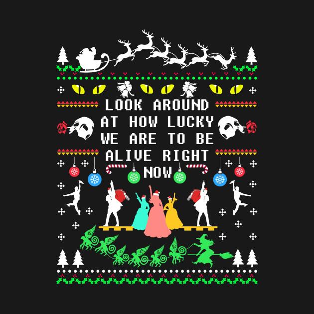 Ugly Broadway Christmas Sweatshirt