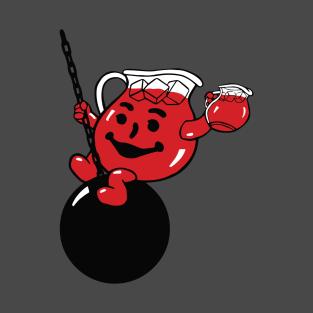 Kool Aid Man- Wrecking Ball (No Text) t-shirts