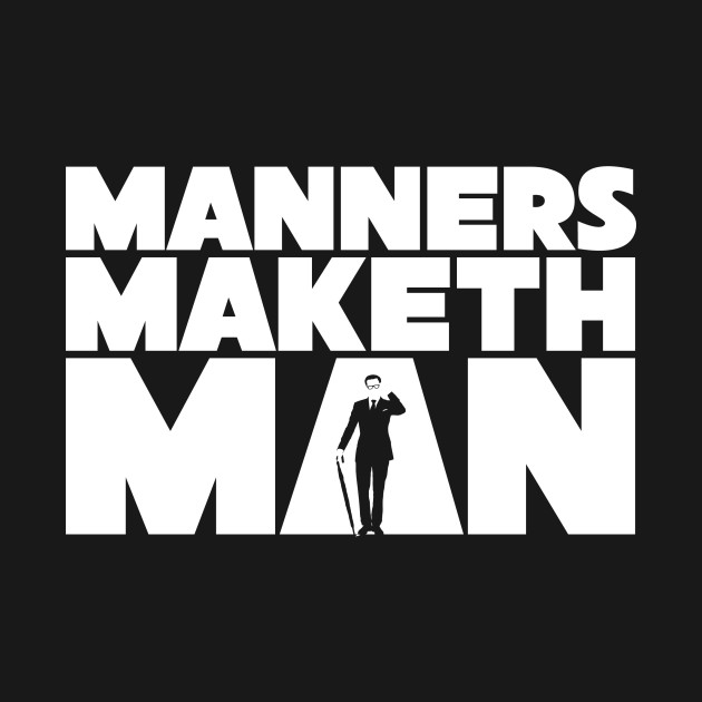 manners maketh a man The perfect kingsman kingsmangoldencircle kingsmangoldencirclegifs  animated gif for your conversation discover and share the best.