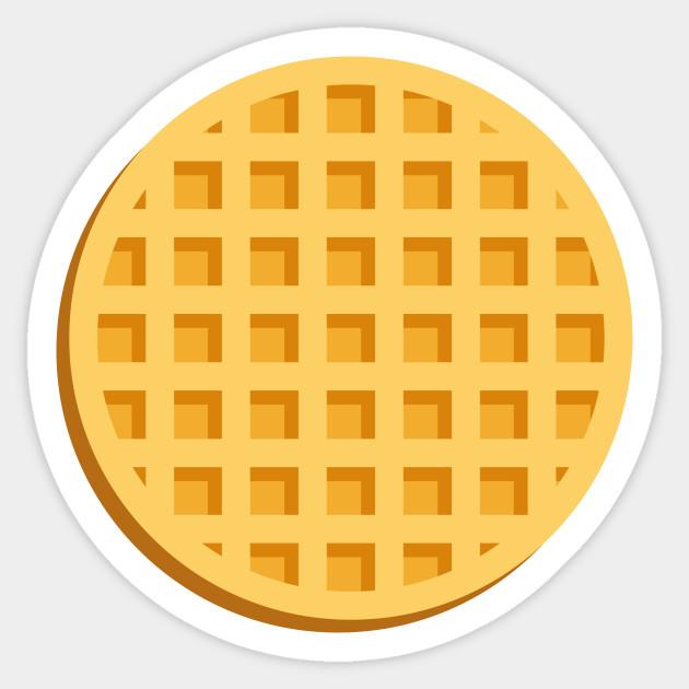 Waffle Waffle Sticker Teepublic