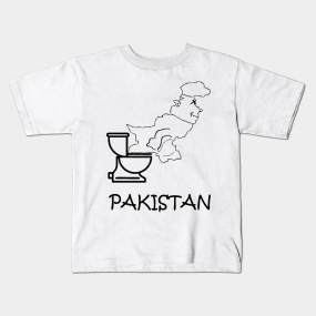 e8395c6b A funny map of Pakistan - 2 Kids T-Shirt
