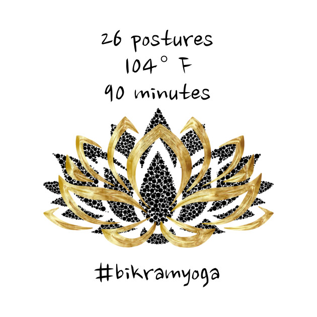 Bikram yoga numbers and a golden lotus flower yoga t shirt 2991207 0 mightylinksfo