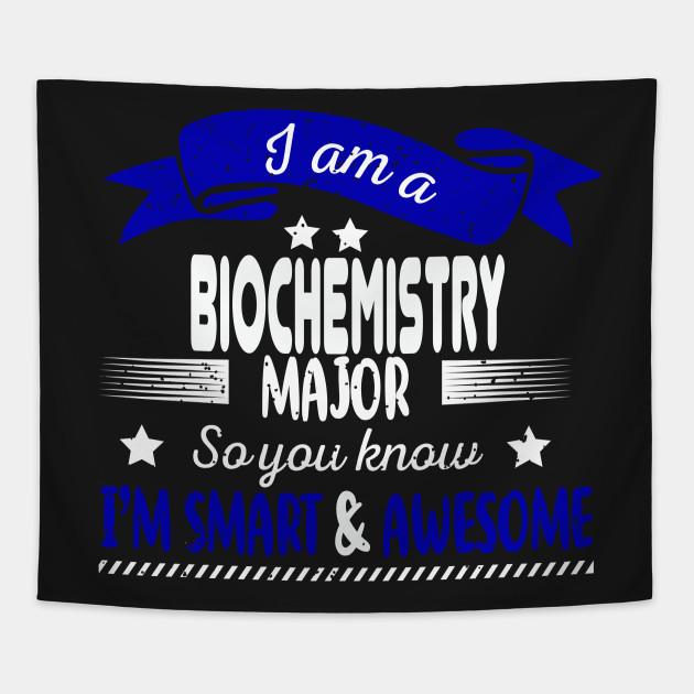 Biochemist College Degree - Biochemistry - Tapestry | TeePublic