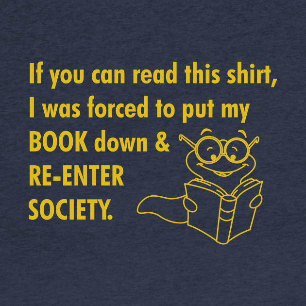 Book Worm Re-enter Society