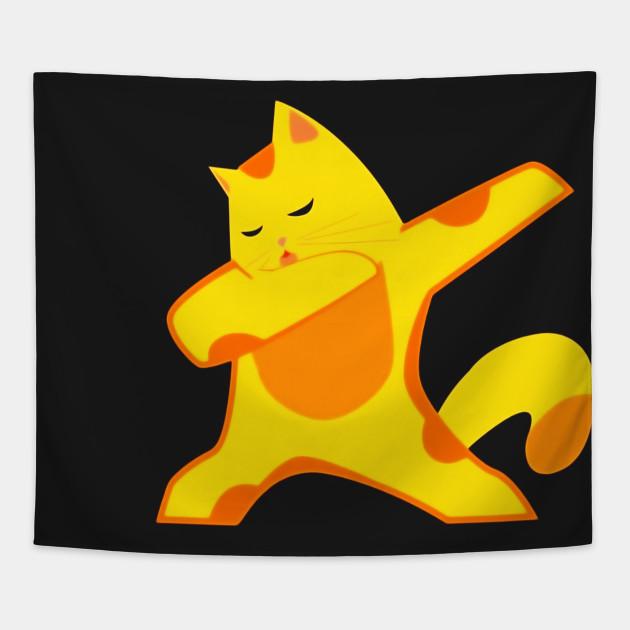 Cat Dab Shirt Hip Hop Cat Gifts For Women Girls Boys