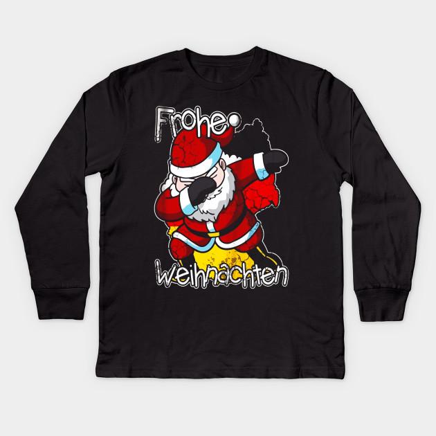 T Shirt Weihnachten.Germany Grohe Weihnachten Dabbing Santa German Shirt