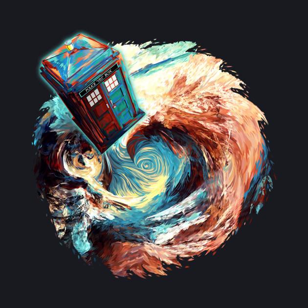 Time travel Phone box at Starry Dark Vortex