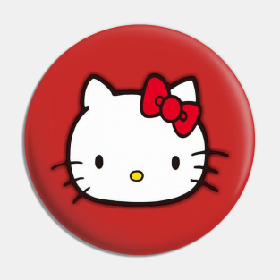 Hello Kitty Witch Halloween Pins//Buttons