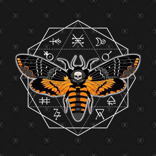 Deathshead Moth Alchemy circle