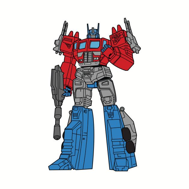 Transformers Optimus Prime illustration