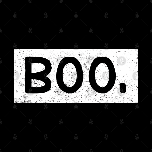 Halloween Vintage Boo Funny Gift