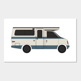 Vintage Camper Posters and Art Prints | TeePublic