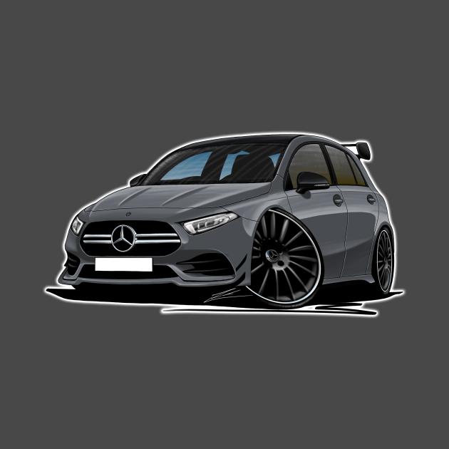 Mercedes A35 AMG Grey