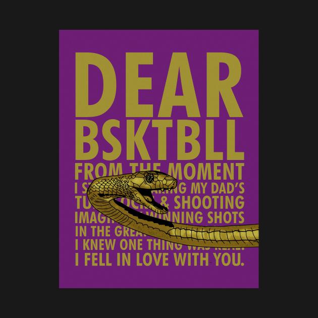 Dear BSKTBALL tee