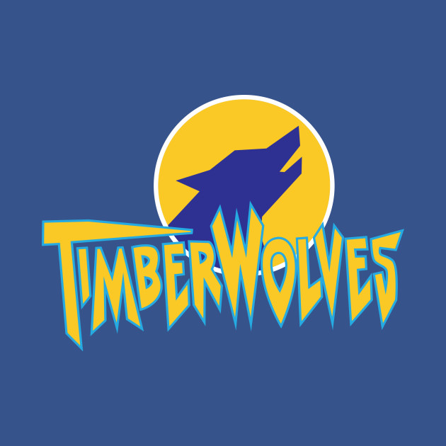 Fernfield Timberwolves Baseball Team Timberwolves T Shirt