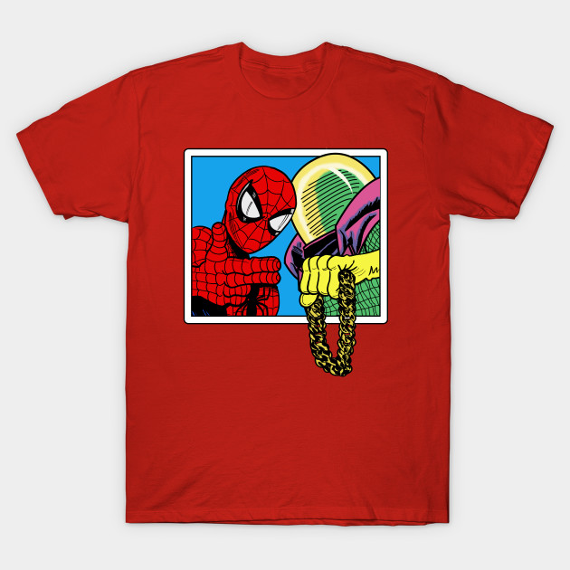 1fcb81dd7 Spider-Man and Mysterio Run The Jewels (Version 2) - Spider Man - T ...