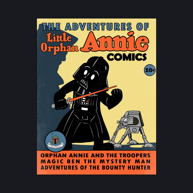 Little Annie and the Troopers