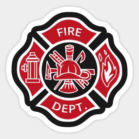 Main Tag Fireman Sticker