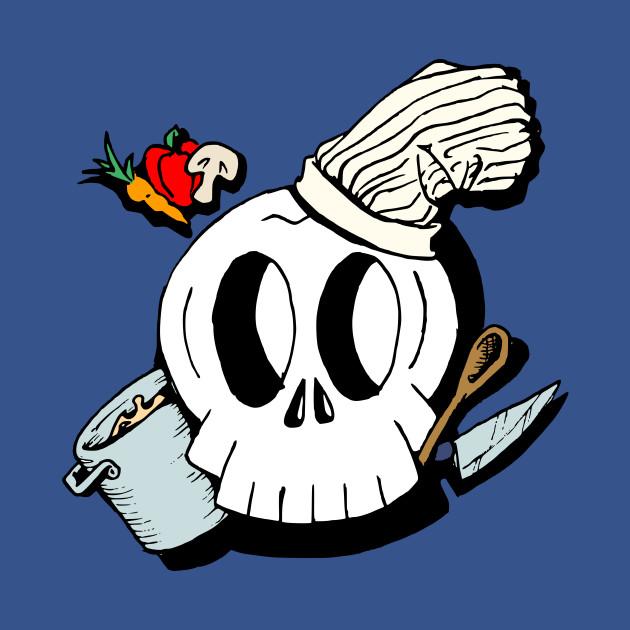 Chef Skull (full color)