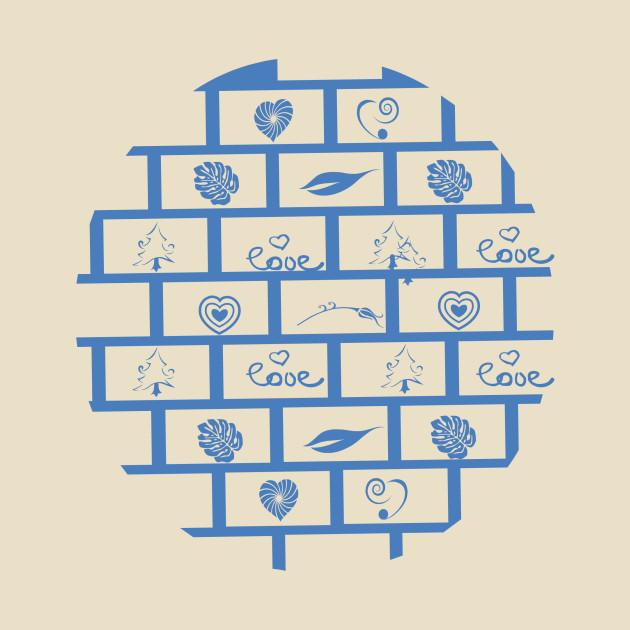 wall blocks with wonderful shaps tshirt gift wall blocks with