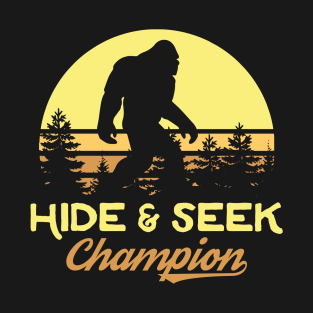 0fbbe2642 Xeire Hide and Seek Champion Bigfoot T-Shirt