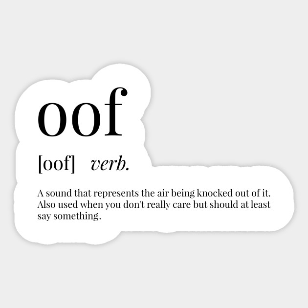 Oof Definition