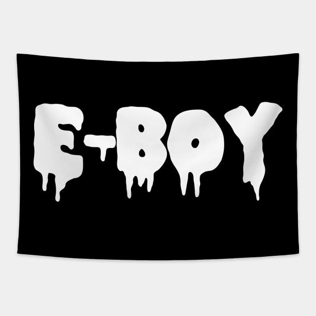 E Boy Aesthetic Tiktok E Boy Tapestry Teepublic