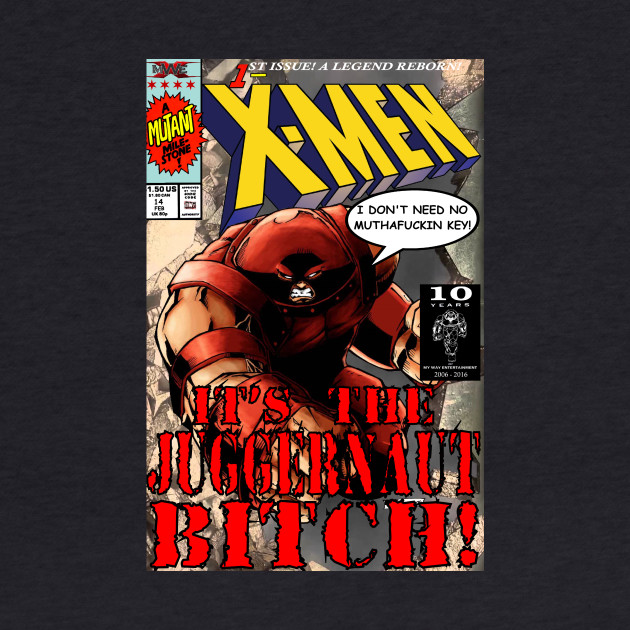 [mWe] X-Men: Juggernaut Bitch Variant
