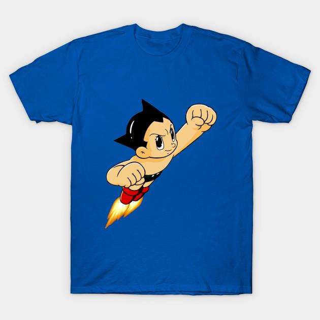 d46389b7f Astro Boy - Vintage Anime - T-Shirt   TeePublic