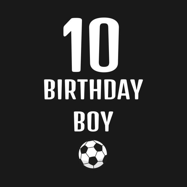 f1a82ada63d Football kids birthday gift idea boys sports - Soccer - T-Shirt ...