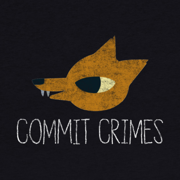Night In The Woods - Commit Crimes - White Dirty