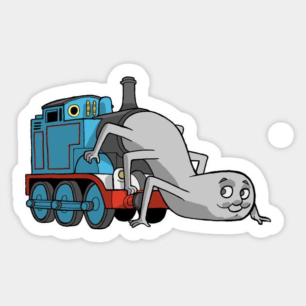 Thomas The Terror Engine Thomas Tank Engine Sticker