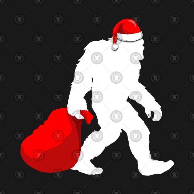 Funny BigFoot Santa Claus Christmas Xmas X-Mas Design Gift Idea