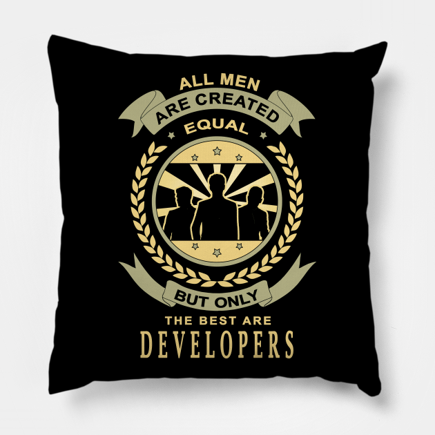 Gifts for Developers All Men Are Created Equal Developers Quotes