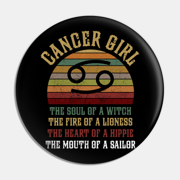 Cancer Girl Zodiac Sign Shirt Birthday Gift